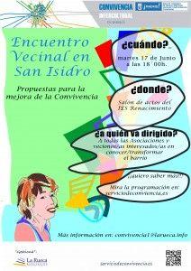 cartel encuentro san isidro