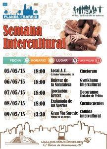 Cartel semana intercultural