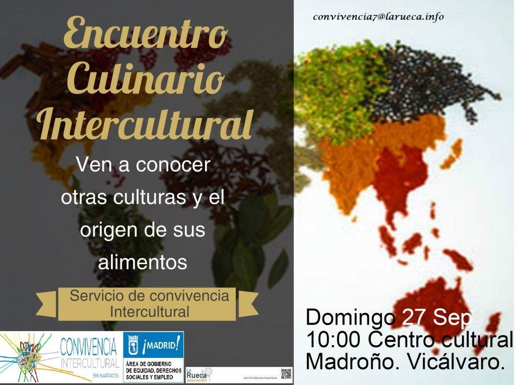 cartel Encuentro culinario