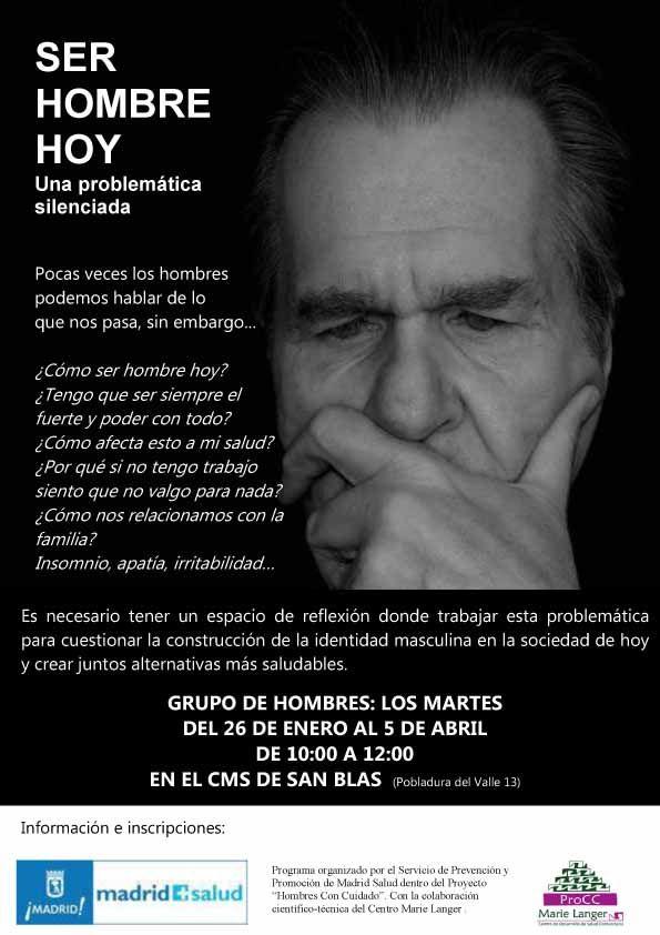 Grupo de hombres CMS San Blas cartel