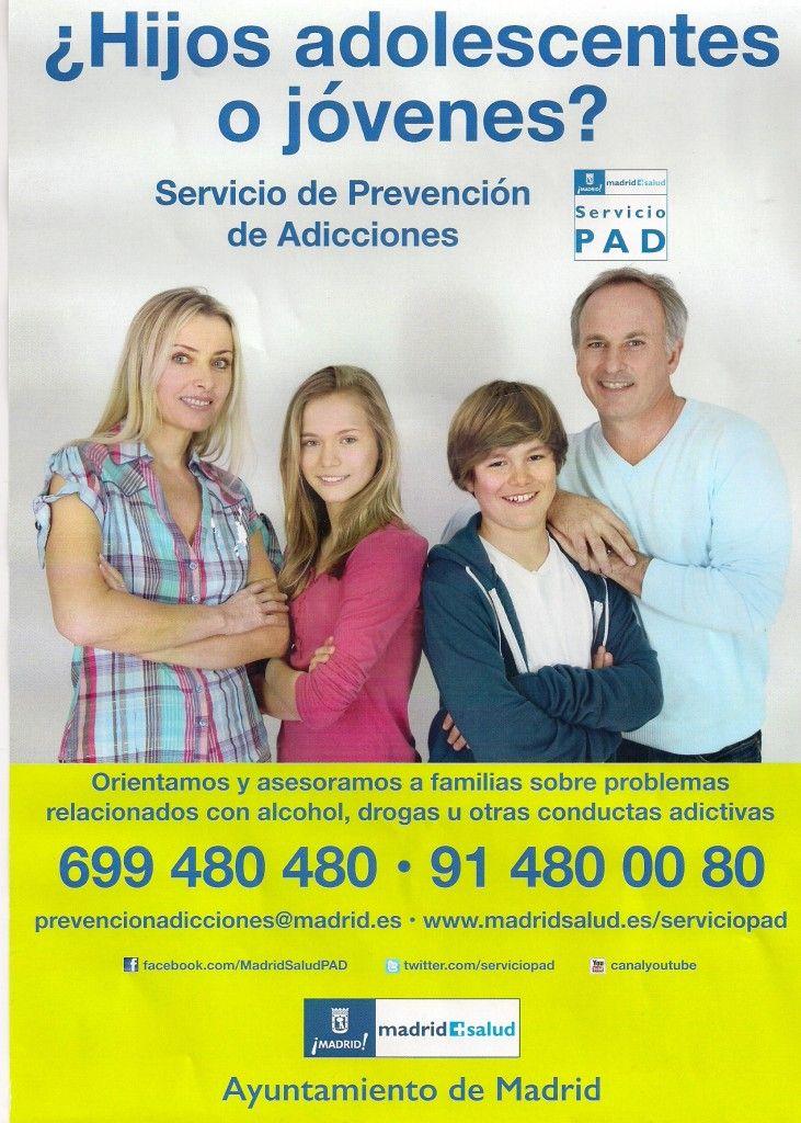 160221  Servicio de Prevención de Adicciones cartel